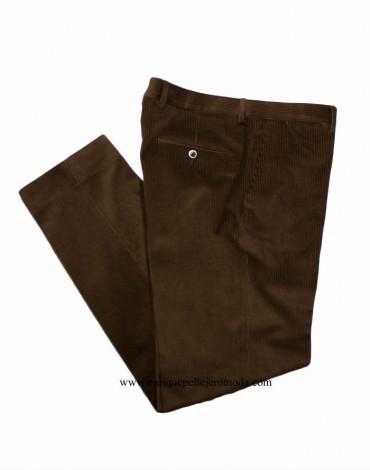 Pertegaz pantalón pana marrón