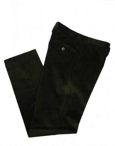 Pertegaz pantalón pana verde