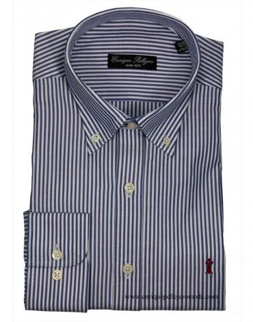 Blue candela stripe shirt Enrique Pellejero