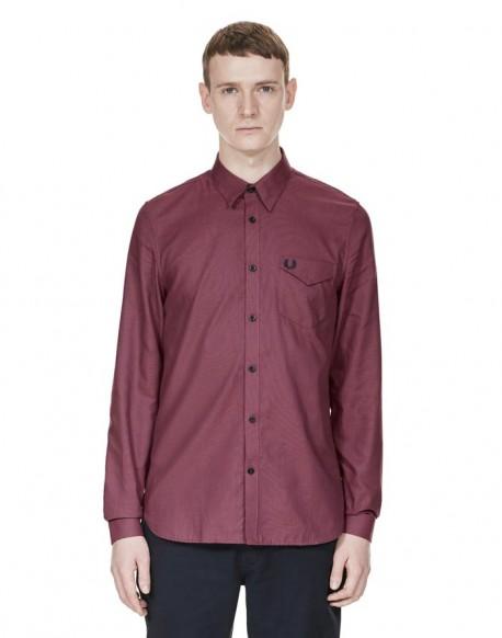 419cd7280b Fred Perry camisa manga larga texturizada bicolor colección hombre