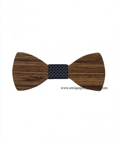 Bow tie wood marine circles
