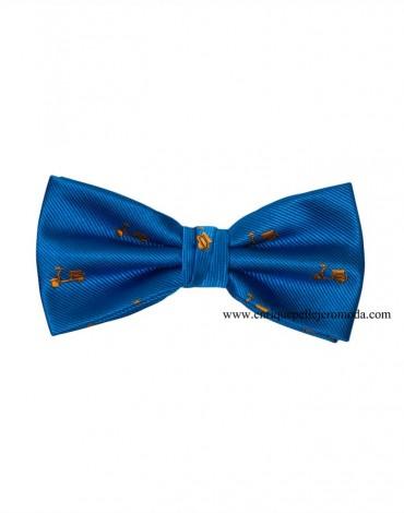 Blue Bow Tie Vespa Camel