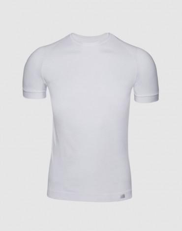 ZD camiseta blanca manga corta