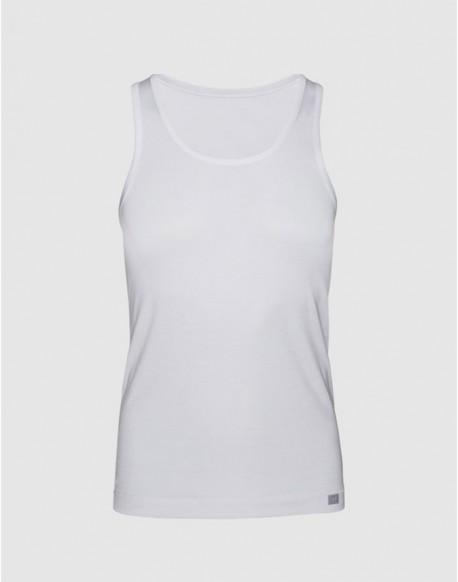 ZD camiseta tirantes blanca