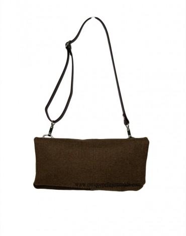 Anuscas Family bolso riñonera marrón