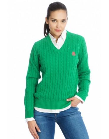 Valecuatro jersey pico verde