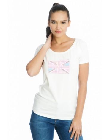 Valecuatro camiseta blanca ladies England