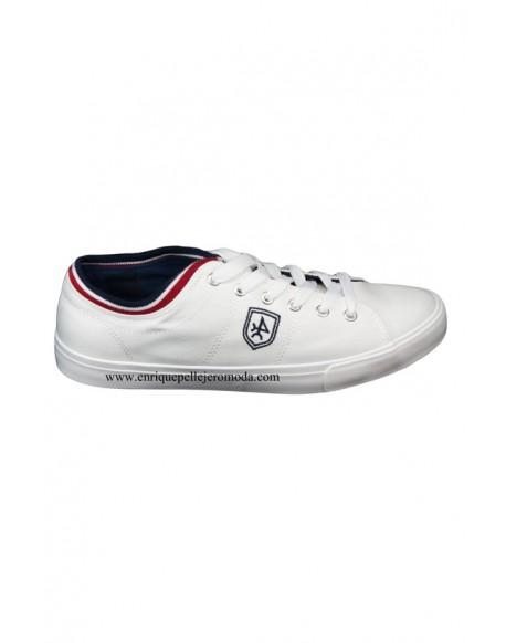 Valecuatro zapatillas blanca cordones