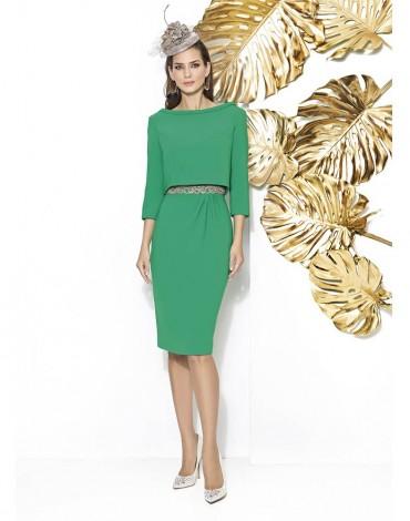 Cabotine conjunto vestido verde