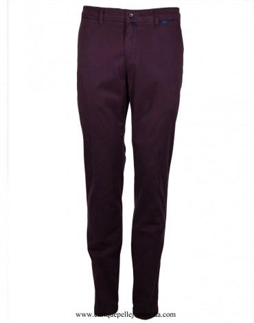Pertegaz pantalón chino burdeos