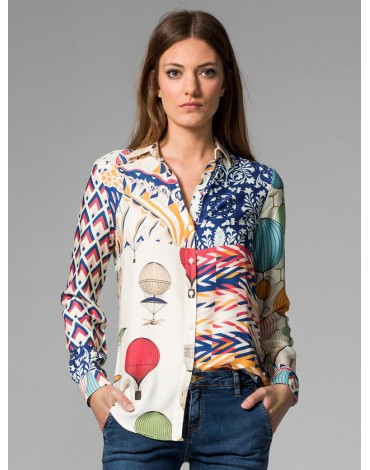 Vilagallo camisa estampada