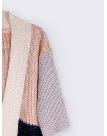 Vilagallo chaqueta punto triziana combinada