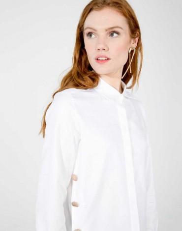 Vilagallo camisa blanca con botones