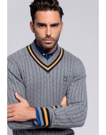 Valecuatro jersey Windsor gris