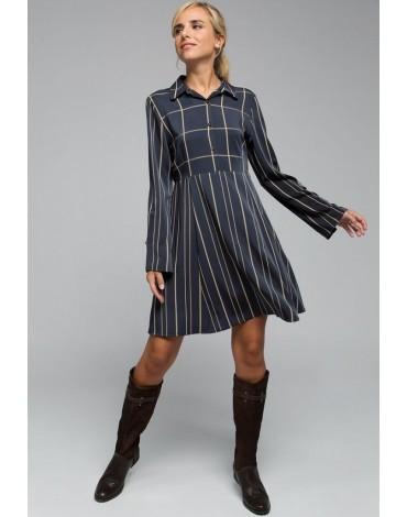 Valecuatro navy blue Manhattan dress
