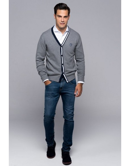 Valecuatro chaqueta Bristol gris