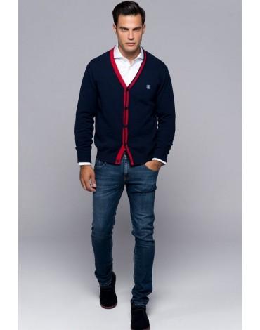 Valecuatro chaqueta Bristol azul marino