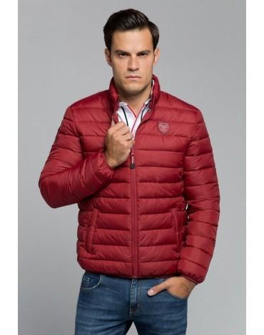 Valecuatro chaqueta acolchada granate