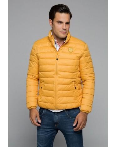 Valecuatro mustard padded jacket