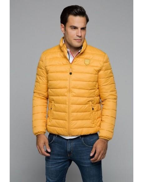 Valecuatro chaqueta acolchada mostaza
