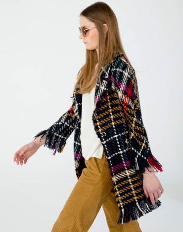 Vilagallo abrigo lucy bergamo check