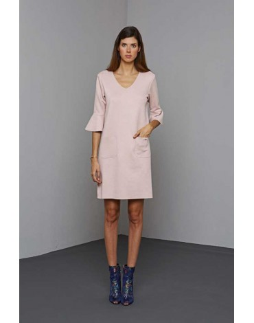 MdM vestido rosa