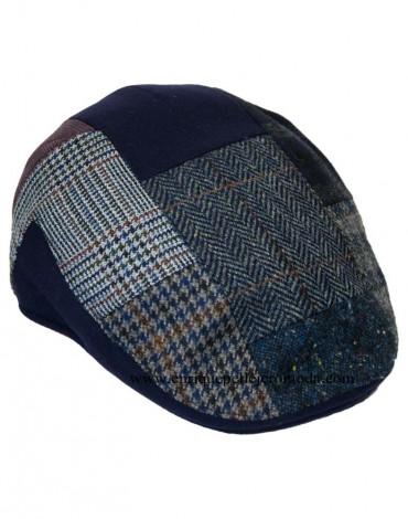 Gorra patchwork azul