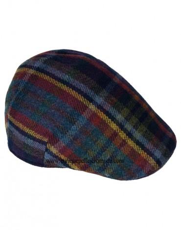 Check wool cap