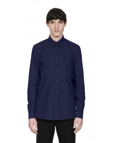 Fred Perry blue Oxford shirt