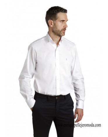 Camisa blanca sport Enrique Pellejero