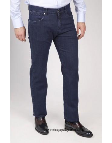 Pertegaz pantalón vaquero azul