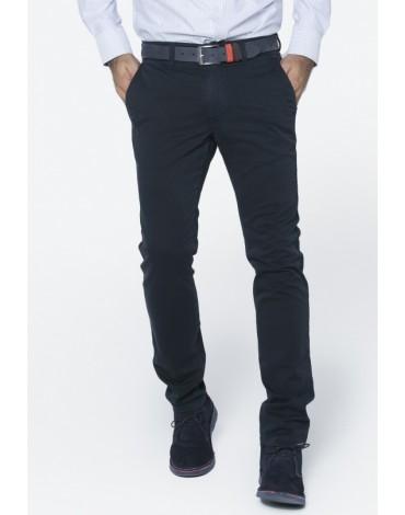 Valecuatro pantalón chino azul marino