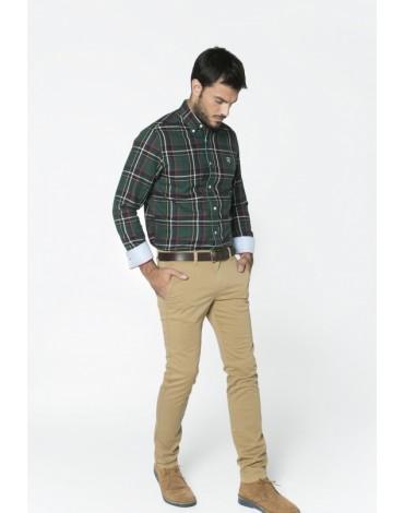 Valecuatro pantalón chino beige
