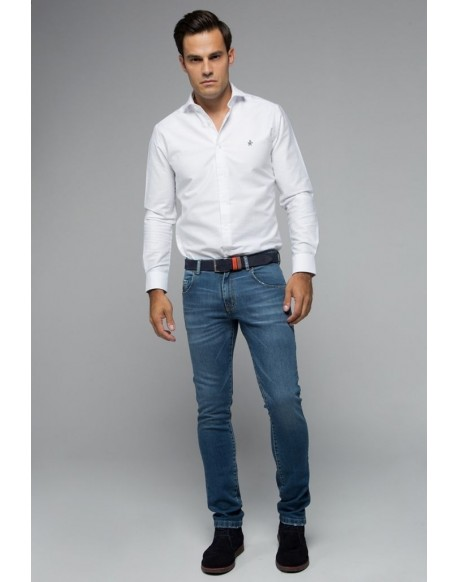 Valecuatro men's blue jeans