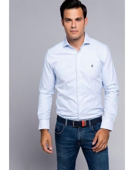 Valecuatro light blue Italian Oxford shirt