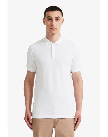 Fred Perry white polo shirt short sleeve