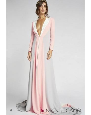 Matilde Cano tricolor dress