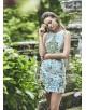 Matilde Cano vestido con aplicaciones tipo joya