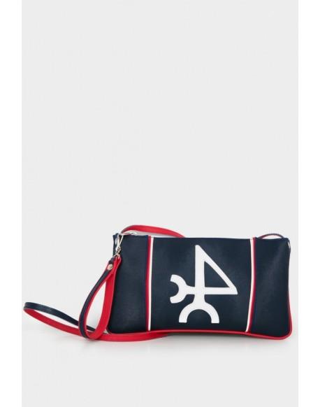 Valecuatro navy blue bag Valentina