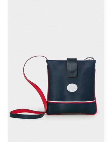 Valecuatro navy blue shoulder bag Valentina