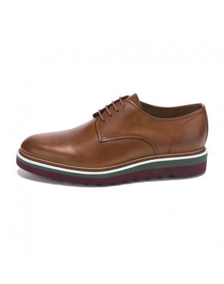 Chopo shoes leather blucher
