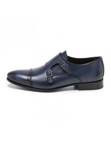 Sergio Serrano zapatos hebillas marino