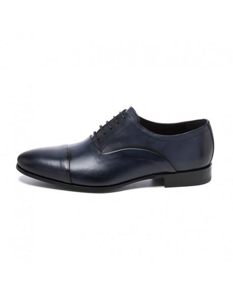 Sergio Serrano zapatos Oxford azul marino