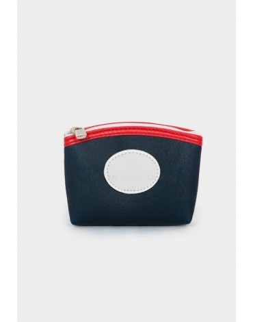 Valecuatro coin purse navy blue valentina