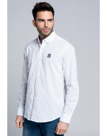Valecuatro camisa fantasía blanca
