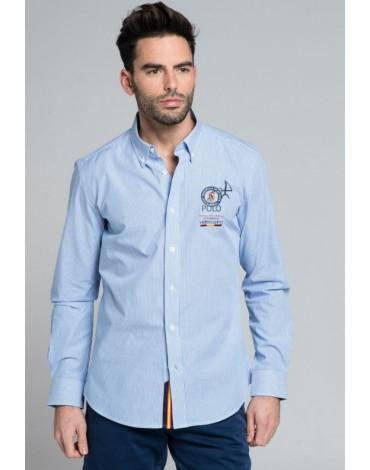 Valecuatro camisa handicap azul marino