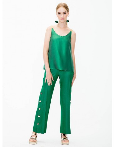 Vilagallo trousers Natalia green hr