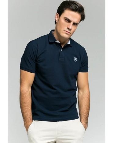 Valecuatro polo shirt classic navy blue