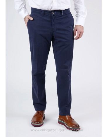 Pertegaz pantalón chino azul marino
