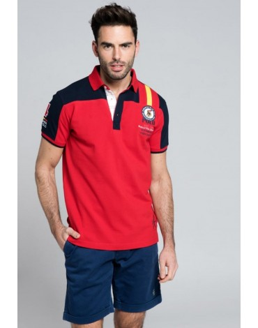 Valecuatro polo Spain red